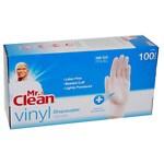 Mr. Clean Vinyl Disposable Gloves, White