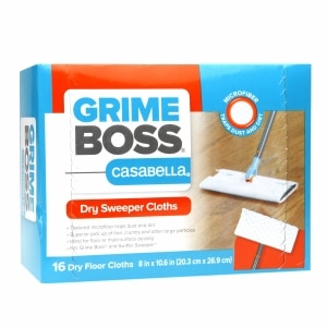 Grime Boss Dry Sweeper Cloths