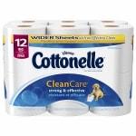 Cottonelle Clean Care Big Roll Toilet Paper- 12 ea