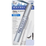 Maybelline Full 'N Soft Waterproof Mascara, Very Black 311