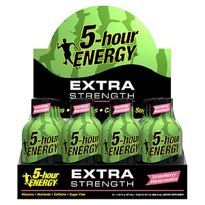 5-Hour Energy Extra Strength Energy Shot, Strawberry Waterme