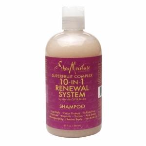 SheaMoisture Superfruit Complex 10-in-1 Renewal System Shampoo, Super Fruit, 13 fl oz