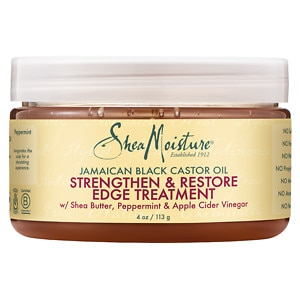 SheaMoisture Strengthen, Grow & Restore Edge Treatment , Jamaican Black Castor Oil