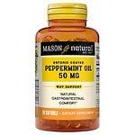 Mason Natural Peppermint Oil Enteric Coated 50mg, Softgels- 90 ea