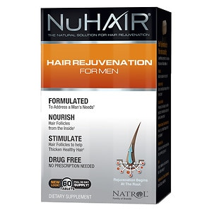NuHair Hair Regrowth For Men- 50 tablets
