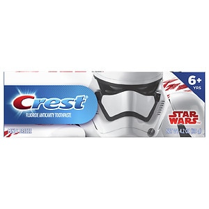 Crest Stages For Me Disney Star Wars Kids Toothpaste, Minty Breeze