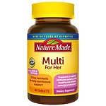 Nature Made Multi For Her, Complete Multi Vitamin/Mineral, Tablets- 90 ea