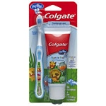 Colgate My First Toothbrush & Toothpaste Starter Kit, Mild Fruit- 1 ea