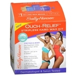 Sally Hansen Ouch Relief Stripless Wax Kit- .75 oz