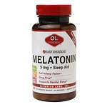 Olympian Labs Melatonin 5mg Fast Dissolve Sleep Aid, Tablets- 60 ea
