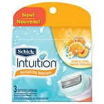 Schick Intuition Revitalizing Moisture Refill Cartridges- 3 ea