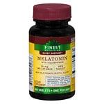 Finest Nutrition Melatonin 10mg, Tablets- 60 EA