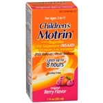 Children's Motrin Pain Reliever Fever Reducer Suspension, Berry- 1 oz