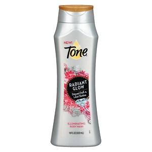 Tone Radiant Glow Body Wash, Diamond Dust and Lotus Blossom