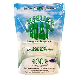 Charlie's Soap Laundry Packets, 30 ea