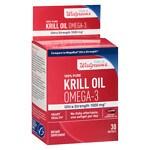 Walgreens Omega-3 Krill Oil, Softgels- 30 ea