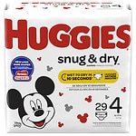 Huggies Snug & Dry Jumbo Pack Diapers, 4- 29 ea