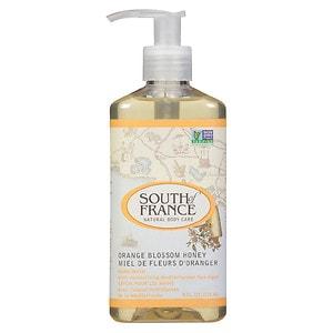 South of France Liquid Soap, Orange Blossom Honey, 8 oz