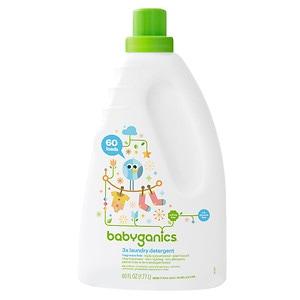 Babyganics Laundry Detergent, Fragrance Free