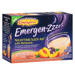 Emergen-C Emergen-zzzz Nighttime Sleep Aid with Melatonin,