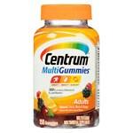 Centrum MultiGummies Multivitamin Gummies for Adults, Natural Cherry, Berry & Orange- 150 ea