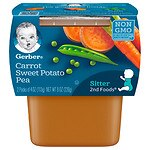 Gerber 2F Puree Tub, Mixed Vegetable- 4 oz
