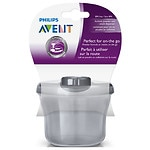 Philips Avent Powder Formula Dispenser & Snack Cup, Grey- 1 ea