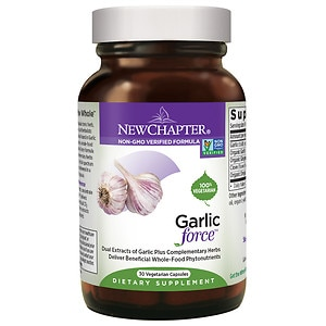 New Chapter Garlic Force, Vegetarian Capsules