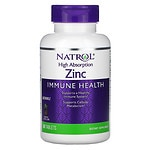 Natrol High Absorption Zinc, Chewable Tablets, Pineapple- 60 ea