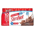 SlimFast Ready to Drink, 11 oz Bottles, 20 pk, Milk Chocolate- 11 oz