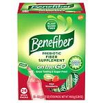 Benefiber Fiber Drink Mix On the Go! Stick Packs, Kiwi Strawberry- 24 ea