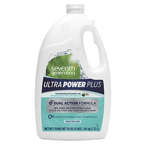 Seventh Generation Ultra Power Plus Natural Auto Dish Gel, Fresh
