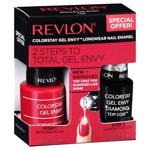 Revlon Gel Envy Nail Kit, 2 pk, Roulette Rush