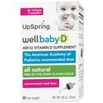UpSpring Wellbaby D Infant Vitamin D Drops- .34 oz