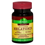 Finest Nutrition Melatonin 10 mg Quick Dissolve Tablets, Strawberry- 90 ea