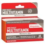 Walgreens Women's 50+ One Daily Multivitamins- 65 ea