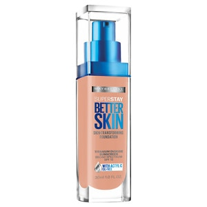 Maybelline SuperStay Better Skin Transforming Foundation, Buff Beige