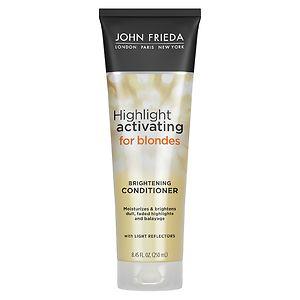 John Frieda Sheer Blonde Highlight Activating Enhancing Conditioner, For Lighter Shades