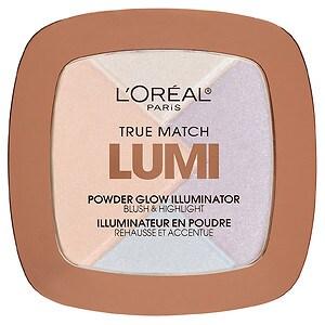 L'Oreal Paris True Match Lumi Powder Glow Illuminator, Ice C 302