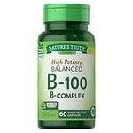 Nature's Truth High Potency Balanced B-100 B-Complex- 60 ea