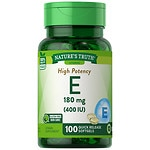 Nature's Truth Vitamin E 400 IU with Natural D-Alpha- 100 ea