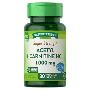 Nature's Truth Super Strength Acetyl L Carnitine HCL 1000mg,