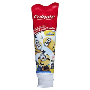 Colgate Kids Minions Toothpaste, Mild Bubble Fruit