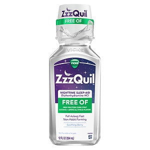 ZzzQuil Alcohol Free Nighttime Sleep Aid
