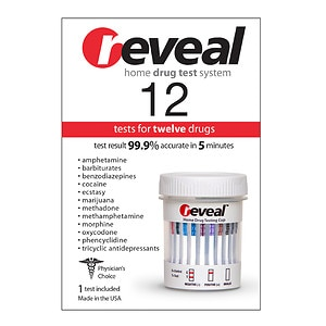 reveal Home 12 Drug Test, Twelve Drugs