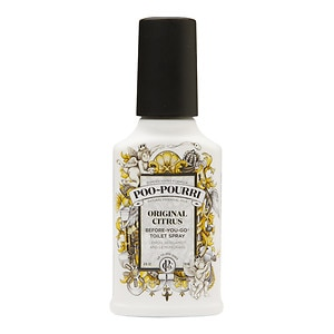 Poo-Pourri Before-You-Go Toilet Spray, Original Citrus, Lemo
