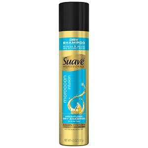 Suave Moroccan Infusion Dry Shampoo for All Hair Types