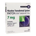 Habitrol Nicotine Transdermal System Stop Smoking Aid Patch, 7 mg, Step 3- 14 ea