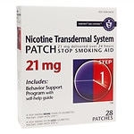 Habitrol Nicotine Transdermal System Stop Smoking Aid Patch, 21 mg, Step 1- 28 ea