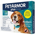 PetArmor Plus Flea & Tick Spot On Dog, 23-44 lb- 3 ea